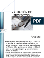 Valuación proyecto