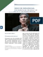 El tráfico de influencias. Breves apuntes respecto del tipo penal y su aplicación en el caso Aurelio Pastor
