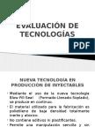 Evaluacion de Tecnologias