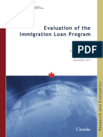 Immigration loan program
