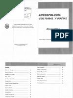 Antropologia Cultural y Social- Biografias