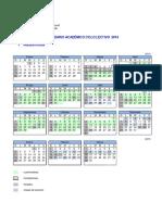 Calendario Acad 2014