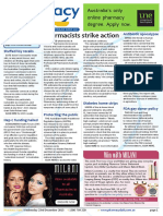 Pharmacy Daily for Wed 23 Dec 2015 - Pharmacists strike action, Hep C funding hailed, Diabetes home strips, Health AMPERSAND Beauty and much more