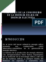 Diapos Principios de La Conversion de La Energia Eolica