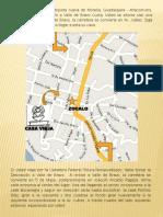 Casa Vieja Mapa