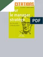 400 Citations Pour Le Manager Strat 232 Ge de Churchill 224 Woody Allen