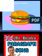 hamburger paragraph powerpoint