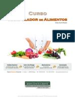 Manual Manipulador Alimentos