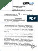 Resolucion Declaracion Desistida de La Carcel