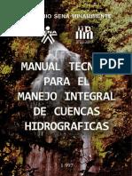Manual Tecnico Para El Manejo Integral de Cuencas Hidrograficas