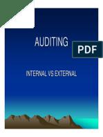 Audit Int Extl