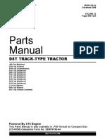 Manual de Partes de D8T