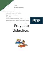 Proyecto de Practica Del Lenguaje 4 Año 2015
