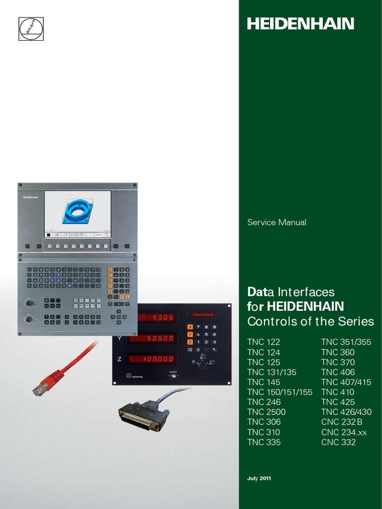 tnc data interface internet protocol suite computer network rh scribd com heidenhain 426 430 tnc manual 2001 heidenhain technical manual tnc 426 tnc 430