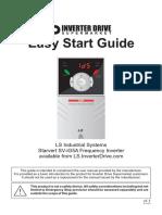 LS SV IG5A Easy Start Guide