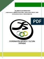 Reglamento de Competición de Fútbol