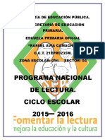 Pnl Rafael Avila Camacho 2015-2016