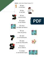 LOS NÚMEROS.Poesía de Jesús Sivianes Naranjo.