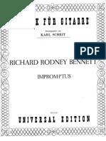 Bennett Impromptus