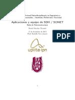 Aplicaciones SDHSONET