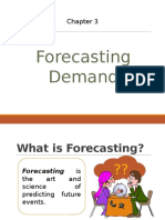 3.0 Forecasting