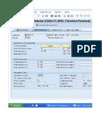 Worksheet in Standard Price
