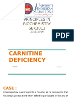 Carnitine Deficiency