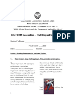 6th form evaluation escpluri
