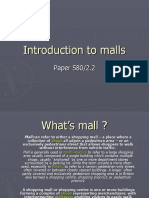 Introduction to Malls