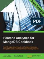 Pentaho Analytics for MongoDB Cookbook- Sample Chapter