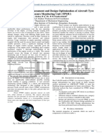 Dynamic Response Assessment and Design Optimization of Aircraft Tyre Pressure Monitoring Unit (Tpmu)