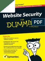 Symantec Website Security for Dummies APAC