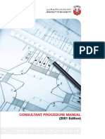 COnsultant Procedure Manual ABU DHABI