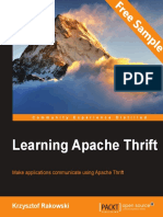 Learning Apache Thrift - Sample Chapter