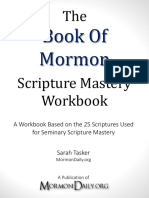 Book of Mormon Scripture Mastery Workbook