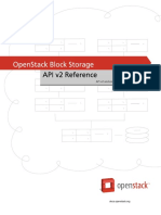 Openstack Blockstorage API Ref