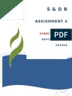 S&D ASS 2 -- 324304 -