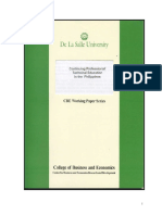 CPD Working Paper 1999-05