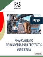 Financiamiento Banobras Fondo Perdido