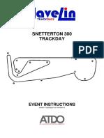 Event Instructions - Snetterton 300