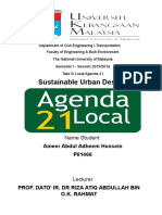 Sustainable Assignmen Local Agenda 21