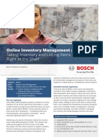 Online Inventory Management at REWE