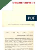 LA SITUACION ARQUITECTÓNICA. VAISMAN. SUPLEMENTO TÉNGASE PRESENTE 1-2015