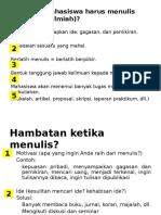 Materi Bahasa Indonesia Smester 1