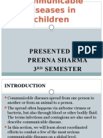Communicable Diseases in Children