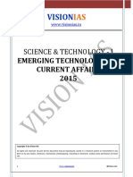 Science and Technology 2015 - Part - 1