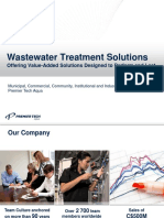 Wastewater Treatment Solutions