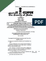 Arbitration and Conciliation Amendment Ordinance 2015