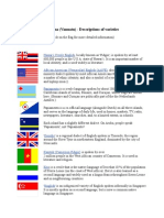 bislama (vanuatu) - descriptions of varieties