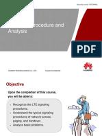 Signalling Analysis of LTE